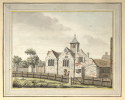 East View of the church of Kentish Town